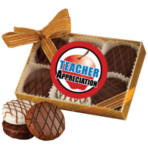 TEACHER APPRECIATION  CHOCOLATE DRIZZLED OREO 6 PK.