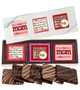 Mother's Day Cookie Talk 6pc Chocolate Graham Box