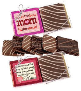 Mother's Day Cookie Talk Chocolate Graham Duo