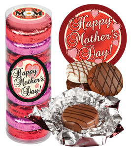 """MOTHERS DAY """"COOKIE TALK"""" CHOCOLATE OREOS  9 Pc. CYLINDER"""