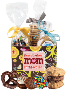 MOTHERS DAY BASKET BOX OF GOURMET TREATS