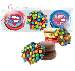 Doctor Appreciation M&M  & Chocolate Oreo Trio