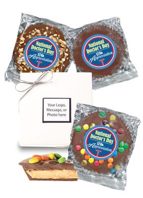 Doctor Appreciation Peanut Butter Candy Pie