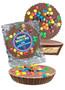 Doctor Appreciation Peanut Butter Candy Pie - M&M