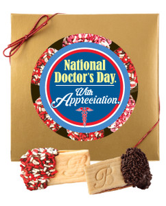 Doctor Appreciation Raspberry Filled Butter Cookie Box