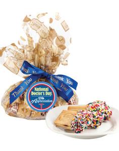 Doctor Appreciation Raspberry Filled Sandwich Butter Cookies