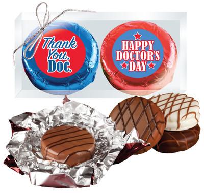 Doctor Appreciation Cookie Talk Chocolate Oreo Duo