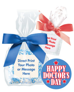 Doctor Appreciation Custom Print Chocolate Graham