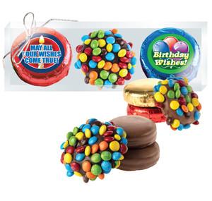 Birthday M&M & Cookie Talk Chocolate Oreo Trio