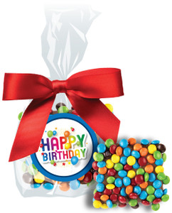 Birthday Chocolate Grahams W/ M&Ms