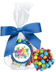 BIRTHDAY CHOCOLATE  OREOs W/ M&Ms
