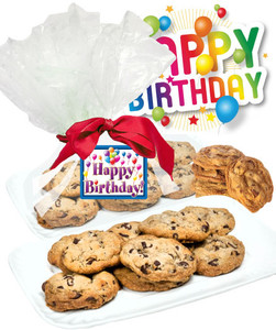 Birthday Butter Chocolate Chip Cookies