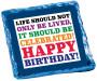 Celebrated Birthday Chocolate Graham