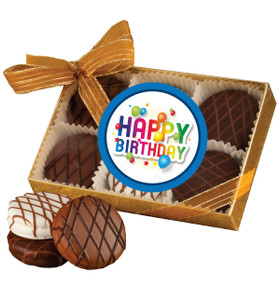 BIRTHDAY CHOCOLATE DRIZZLED OREO 6 PK.