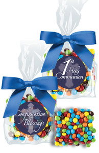 COMMUNION/  CONFIRMATION- CHOCOLATE GRAHAMS W/ M&Ms