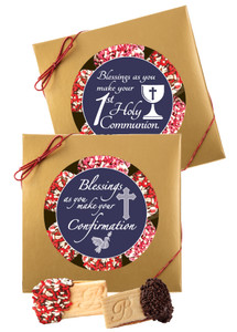 "COMMUNION/ CONFIRMATION - ""COOKIE TALK"" RASPBERRY SANDWICH BUTTER COOKIES"