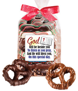 COMMUNION/ CONFIRMATION - PRETZEL BAG