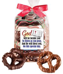 Communion/Confirmation Chocolate Pretzel Bag