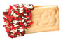 Graduation Raspberry Filled Butter Cookies - Red & White Sprinkles