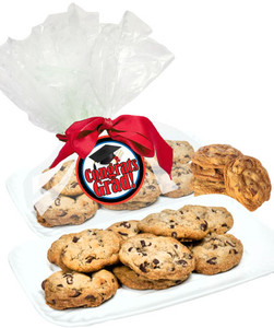 GRADUATION BUTTER CHOCOLATE CHIP COOKIES