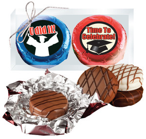 Graduation Cookie Talk Chocolate Oreo Duo