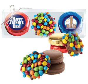 Father's Day Cookie Talk Mini M&M & Chocolate Oreo Trio