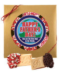 FATHERS DAY SANDWICH BUTTER COOKIES GIFT-BOXED
