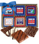 Father's Day Cookie Talk 12pc Chocolate Graham Box