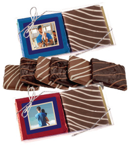 Father's Day Chocolate Graham Photo Duo
