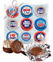 Father's Day Cookie Talk 9pc Chocolate Oreo Box