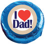 I Love Dad Chocolate Oreo Cookie