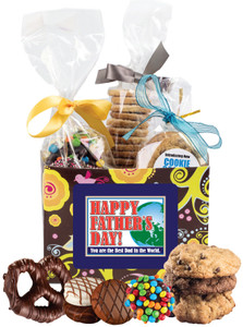 FATHERS DAY  BASKET BOX OF GOURMET TREATS