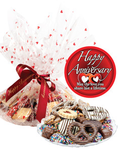 ANNIVERSARY COOKIE ASSORTMENT SUPREME - Cookies, Pretzels & Candies