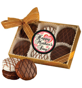 Mothers Day Chocolate Drizzled Oreo 6 Pk.
