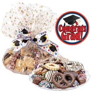 Graduation Cookie Platter Supreme
