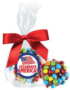 CELEBRATE AMERICA  CHOCOLATE  OREOs w/ M&Ms
