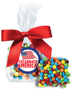 Celebrate America Chocolate Grahams w/ M&Ms