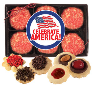 CELEBRATE AMERICA BUTTER COOKIE 12 Pc BOX