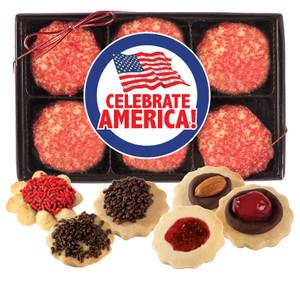 Celebrate America Butter Cookie 12pc Box