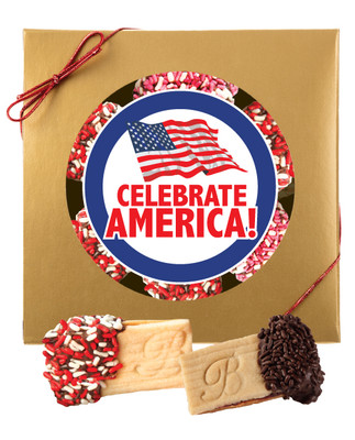 Celebrate America Sandwich Butter Cookies