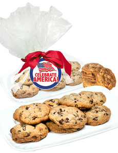 CELEBRATE AMERICA  BUTTER CHOCOLATE CHIP COOKIES