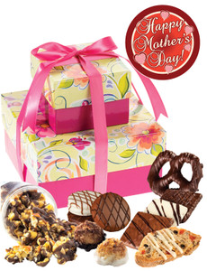 Mothers Day 2 Tier Gift Of Treats