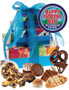 Father's Day 3 Tier Tower of Treats - Blue