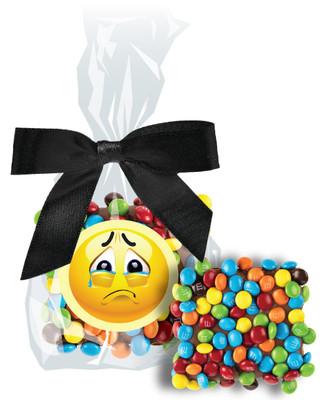 Sad Face Chocolate Graham with Mini M&Ms
