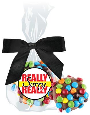 Really Sorry Chocolate Oreo with Mini M&Ms