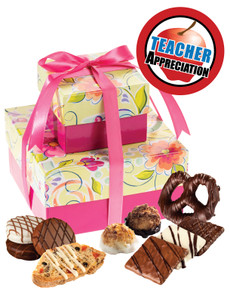 Teacher Appreciation Two Tiered Gift Of Treats