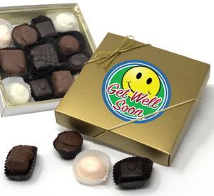 GET WELL CHOCOLATE CANDY BOX