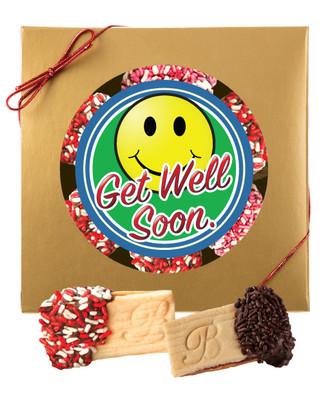 Get Well Raspberry Sandwich Butter Cookies