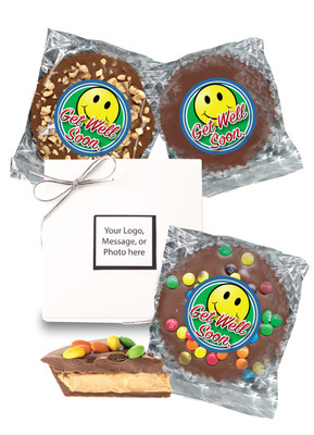 Get Well Chocolate Candy Peanut Butter Pie