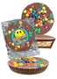Get Well Chocolate Candy Peanut Butter Pie - M&M